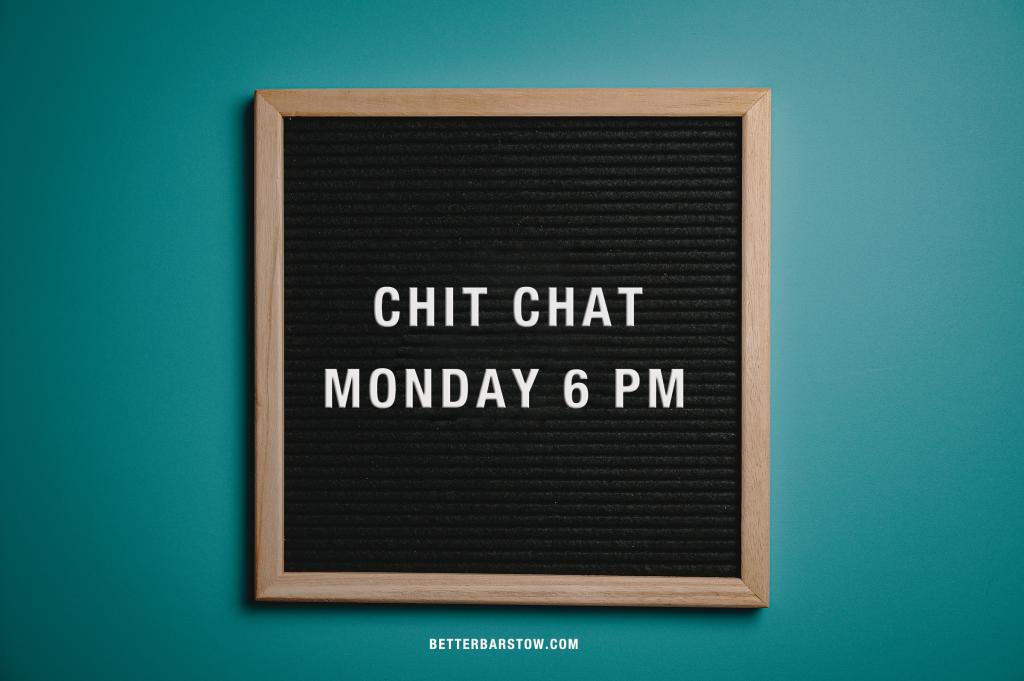 CHITCHAT-MONDAY
